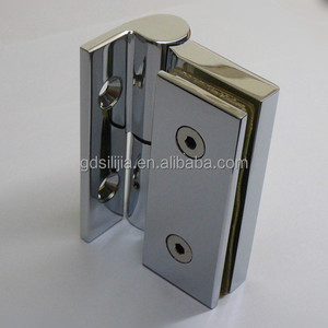 brass Glass Hinge & Shower Glass Door Hinge or Glass Bracket