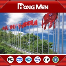 Factory Promotion Price CE flag pole weights aluminum prices 20 foot flagpole