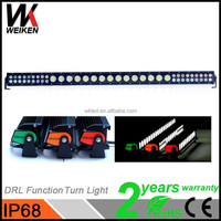 WEIKEN 258w Led Bar Truck Led Lights/ Jeep Truck Hybrid Bumper Car Auto Lighting System