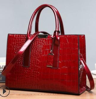 Женские кожаные сумки Bolsa Mujer, дизайнерские сумки на плечо с крокодиловым узором, C824, 2020(Китай)