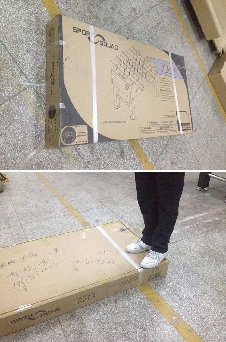 De alta calidad de PVC laminado MDF mesa de hockey de aire para adultos