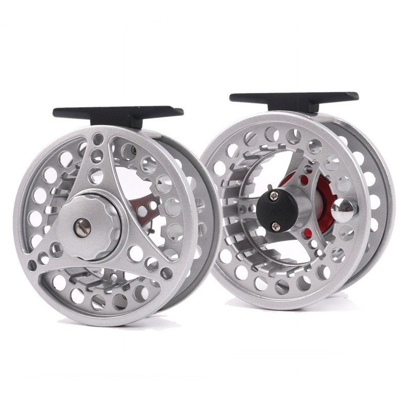Fly Fishing Reels Spool Aluminum Fishing Reel bait casting Reels Right And Left Hand Saltwater Reel 5/6 7/8 carretes de pescar