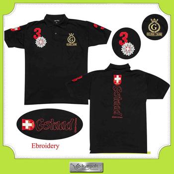 cf8c1c326 Custom high quality XXXXXL polo shirts design with embroidery brand logo