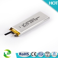 3.7V 1200mah 632570 rechargeable polymer high capacity temperature lipo battery cell
