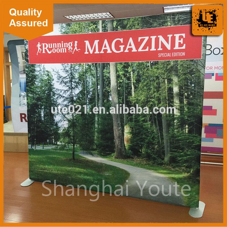 tension fabric dislay high quality 10ft curved tension fabric trade show display trade show tension advertising popup display
