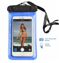 Latest Best Sales Products in Alibaba Mobile Phone Waterproof Bag Covers for Samsung and for iPhone Cell Phone Accessories