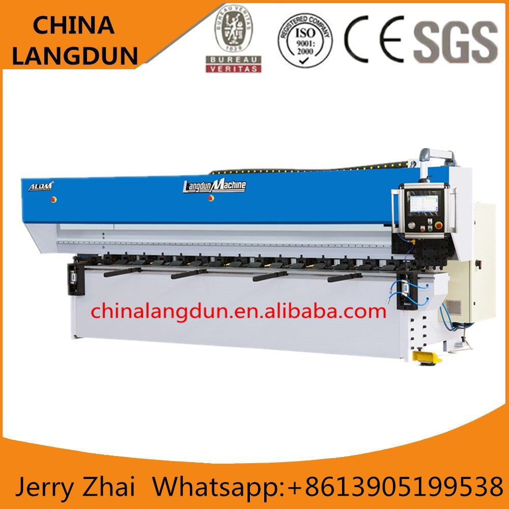 Chinese supplier v notch cutting machine with CE