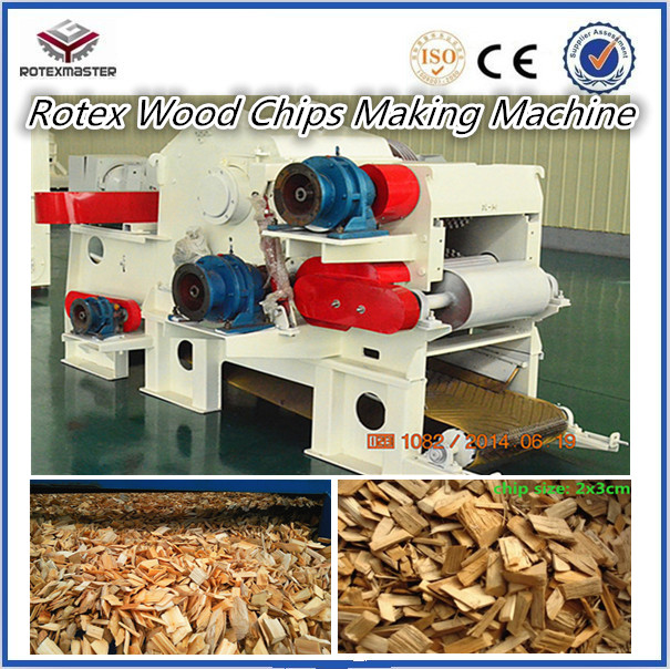 High Capacity Woodworking Machinery Drum Chipper Wood Chips Making ...