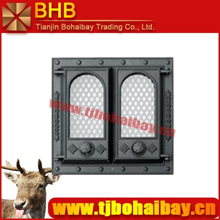 BHB ecological cast iron stove door