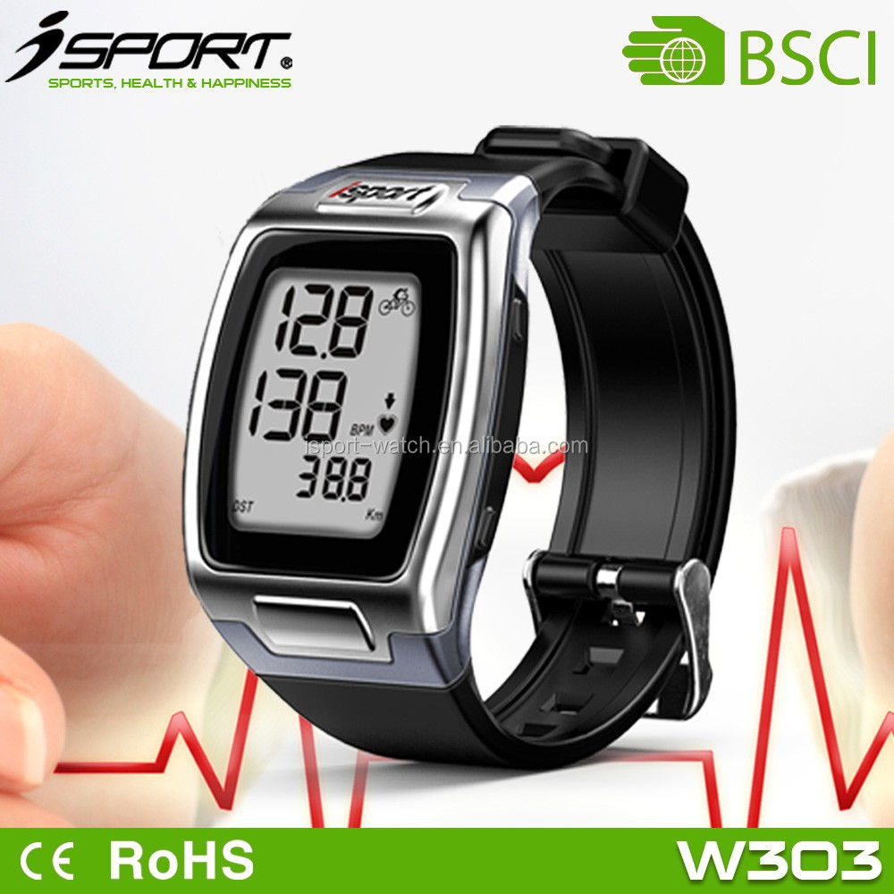 Finger Sensor No Chest Strap Heart Rate Watch