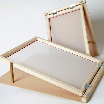 Gezi Pe Silk Screen Printing Mesh Frame Used For Ceramic Printing ...