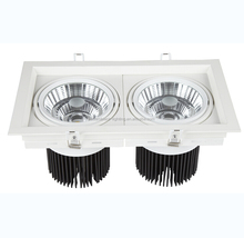 2 Head LED Grille Light High Power Hotel Light 2x38W LED Spotlight