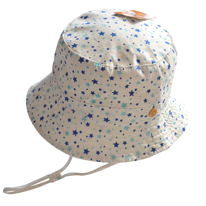 0280815b769 Get Quotations · Toddler Infant Star Printed Cute Cotton Bucket Hat Summer  Outdoor Baby Girls Boys Children Sun Hats