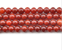 Red dragon popcorn agate beads direct deal Crystal semi-finished products wholesale