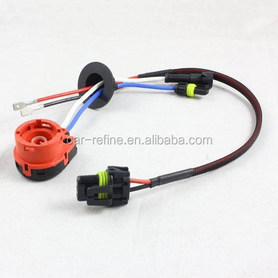 D2s Cable Hid Xenon Wire Adapter D2r / D2c/ D2s Wiring Harness ...