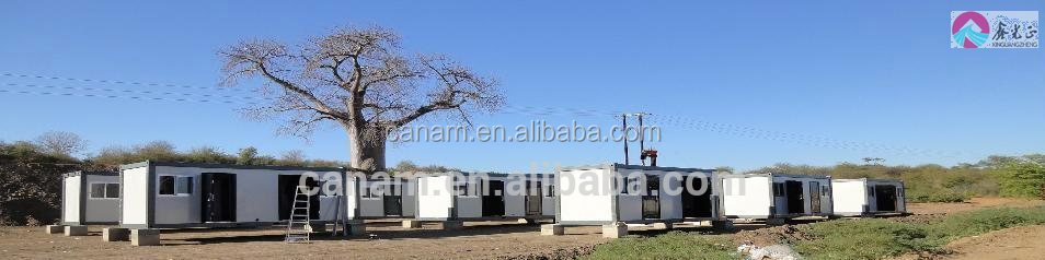 CANAM-recycled retractable portable beautiful container villas for sale
