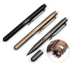 China factory made practical aerial aluminum tactical pen with cuspidal tungsten for self defense in danger