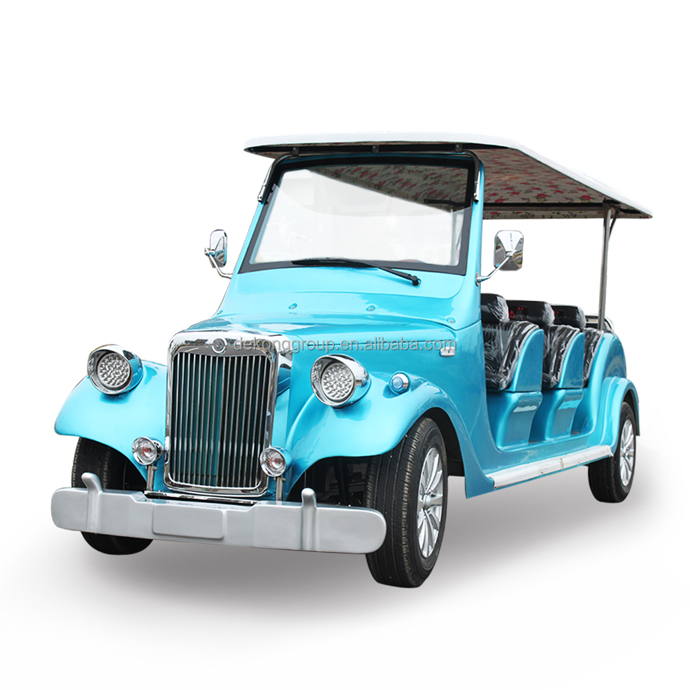 Resort National park Real estate 8 seats pickup electric vintage car club