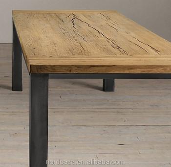 Antique Iron Leg Dining Table Designs