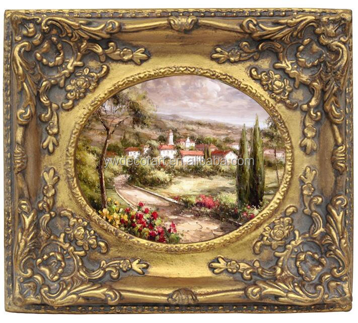 Classical Resin Material Oil Painting Frame small size