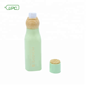 Innovative surface engraved cosmetic packaging glass bottle