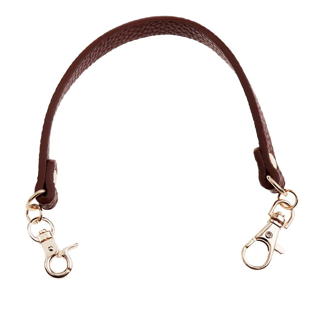 Lee513 Genuine leather Removable Purse Strap Replacement Handle Chain
