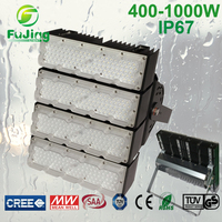 Dimmable high brightness jdc 1000w light rail fixture