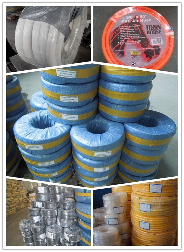 Competitive price colorful continuous compressor colourful flexible pvc air hose manufacturer supplier