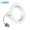 led recessed downlight smart controlled by app, wifi connected 4inch 9w led downlight 3-year warranty