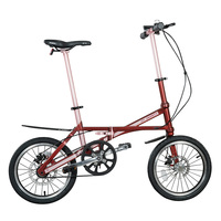 16 inch cheap toray carbon fiber folding bike