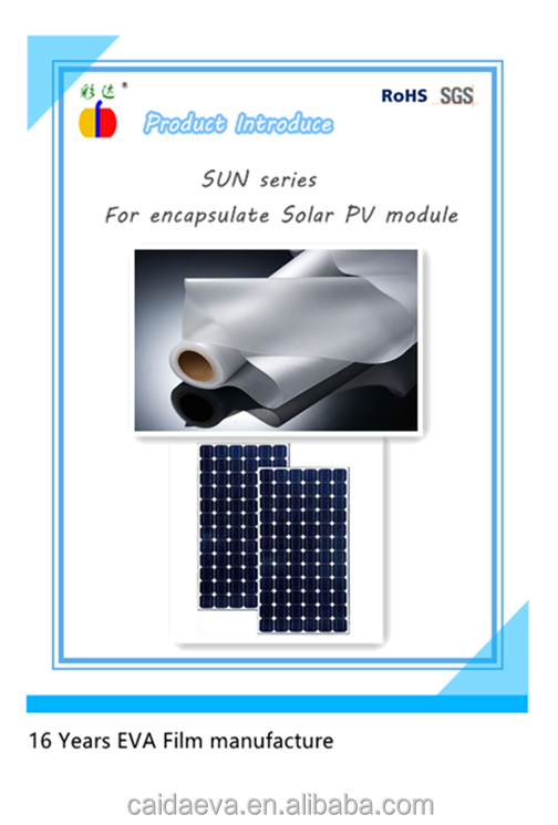 New Solar EVA film with outstanding PID Resistance