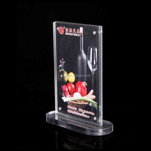 customized acrylic electronic menu for restaurants