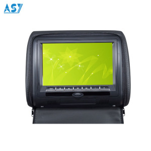 7'' digital LCD monitor car headrest dvd player