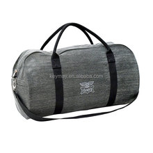 Canvas round duffel sports bags travel fitness bag unique gym bag