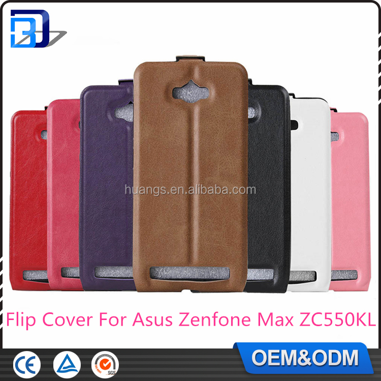 Hot! Magnetic Vertical Flip Leather Slot Wallet Holder Cover Case Skin For Asus Zenfone Max ZC550KL Phone Case Paypal Accept
