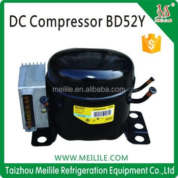 Bd52y Dc Refrigeration Compressor 12v 24v 36v Compressor View 12v Dc Freezer Compressor Meilile Product Details From Taizhou Meilile Refrigeration Equipment Co Ltd On Alibaba Com