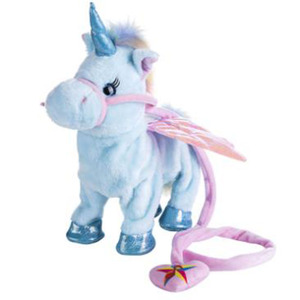 New Products Walking And Singing Electric Plush Unicorn