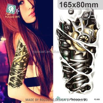 fc-503/female arm stocking tattoo designs transfer sticker temporary