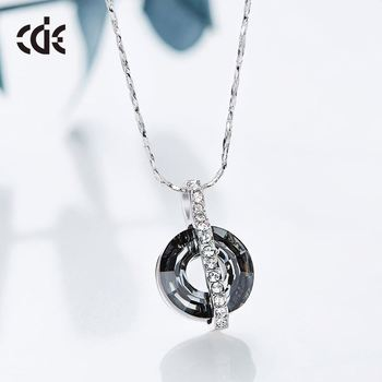 Wholesale Stone Accessories Artificial Jewellery Black Necklace Women