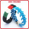 custom silicone energy bracelet anchor