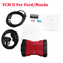 2016 Newly V98 VCM II 2 in 1 IDS Diagnosis tool For Fd / Mazda VCM 2 VCM2 OBD2 Scanner Single Green PCB with plastic Suitcase