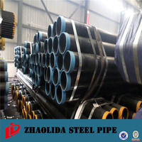 Wrapping Materials for Underground Pipe Black Carbon Steel Pipe
