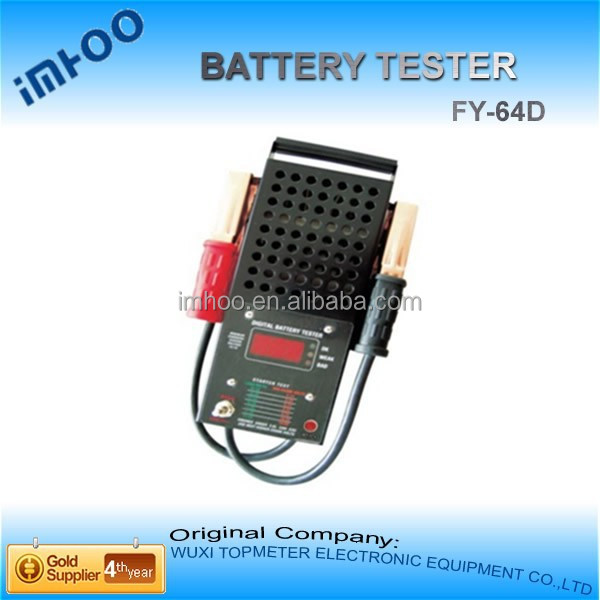 high quality Launch Car Battery Tester FY-64D Analyzer With Accurate Results