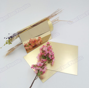 1mm 2mm 3mm wall decoration acrylic mirror sheet