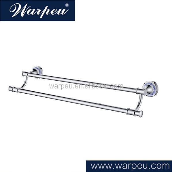 Good Classical Bathroom Accessories The Belgium Market Good Selling Porcelain Double Towel Bar Agent