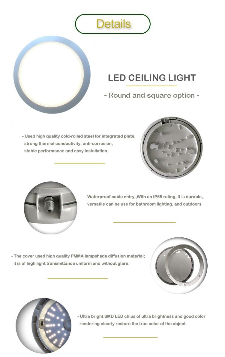 Ip65 Waterproof 15w 20w 30w Led Corridor Lighting With Wiring Smd Diagram