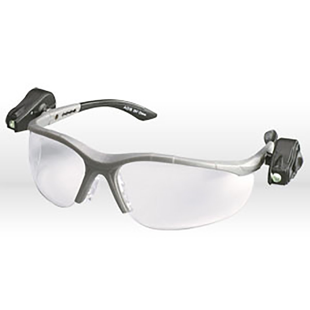 971014c797 Get Quotations · 3M 11478-00000 Light Vision 2.0 Diopter Gray Frame Safety  Glasses With Clear Anti-