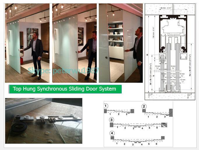 Aluminum Track Telescoping Sliding Glass Door System Buy