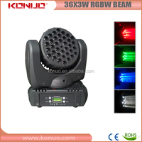 Guangzhou Mac 101 RGBW quad-color 3w 36 led moving head light