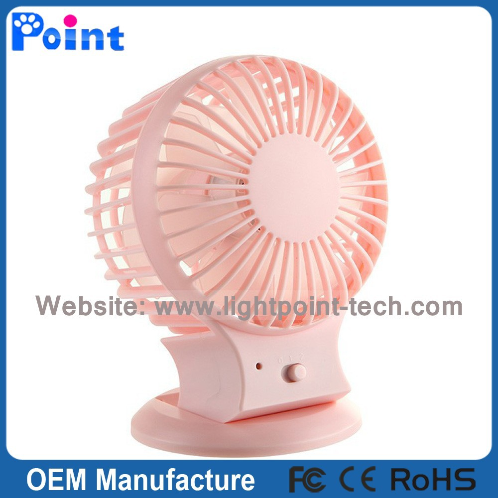 Wholesale Price Two Leaf Double Motor Table Electric Portable USB Mini Fan Low Voltage